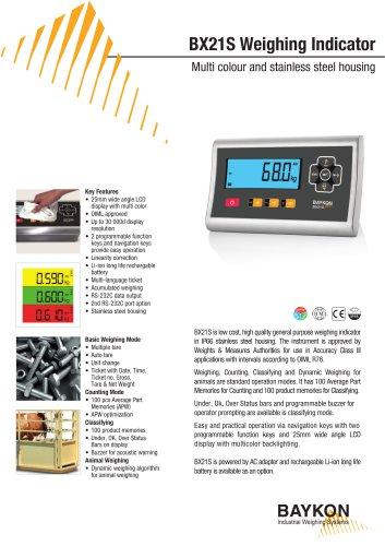 Baykon BX21S Weighing Indicator