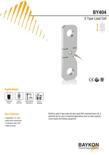 Baykon BY404 S Type Load Cell