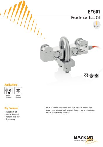 Baykon BY601 Rope Tension Load Cell
