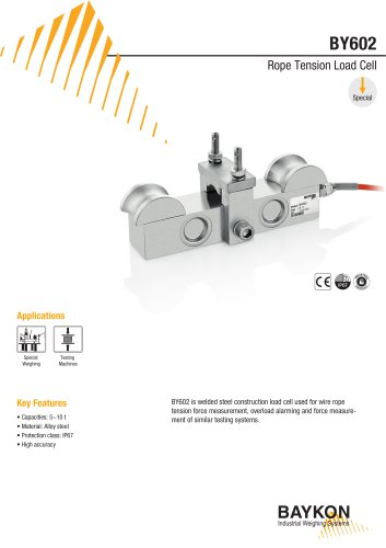 Baykon BY602 Rope Tension Load Cell