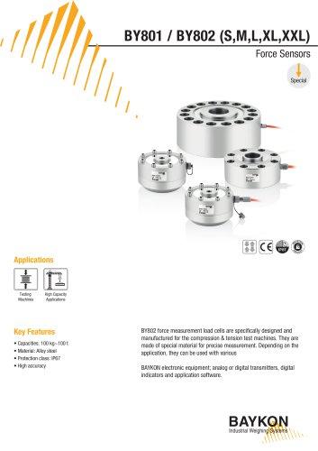 Baykon BY801 / BY802 (S,M,L,XL,XXL) Force Sensors