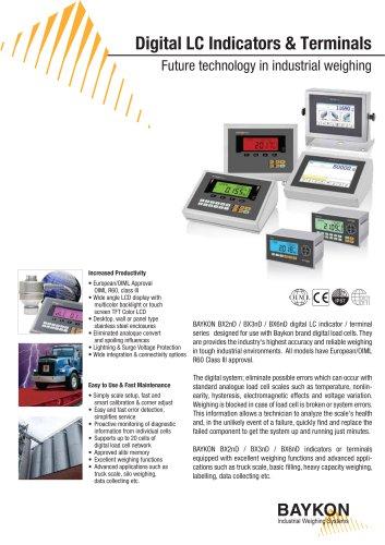Baykon Digital LC Indicators Amp Terminals