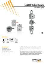 Baykon LA5403 Weigh Module For Tension Types