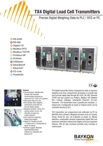 Baykon TX4 Digital Transmitters
