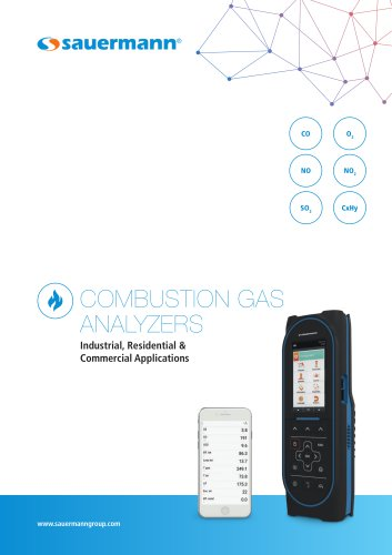 COMBUSTION GAS ANALYZERS