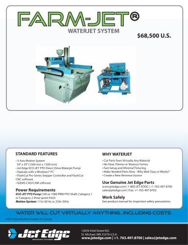 FARM-JET® Waterjet System