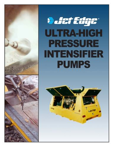 Intensifier Pumps for Mobile Applications