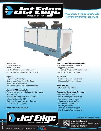IP36-280DS DIESEL WATERJET PUMP