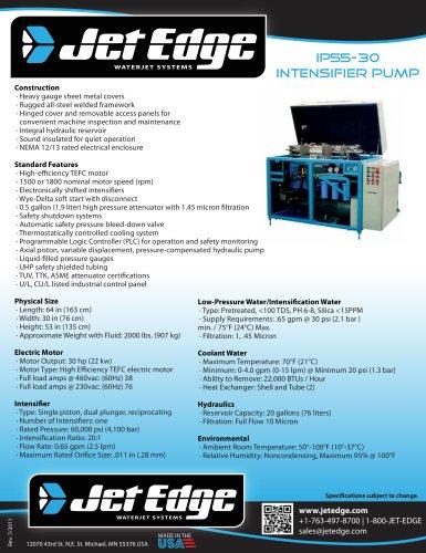 iP55-30-waterjet-intensifier-pump