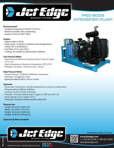 IP60-80DS DIESEL WATERJET PUMP