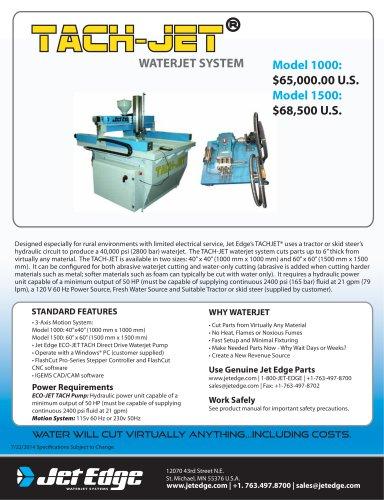 TACH-JET® Waterjet System
