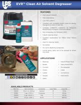 EVR™ Clean Air Solvent Degreaser