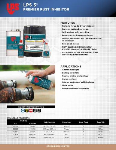 LPS 3®Premier Rust Inhibitor