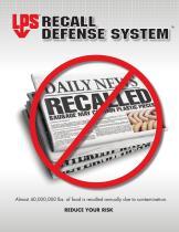 LPS Recall Defense Catalog