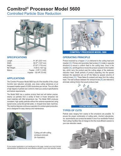 Comitrol® Processor Model 5600