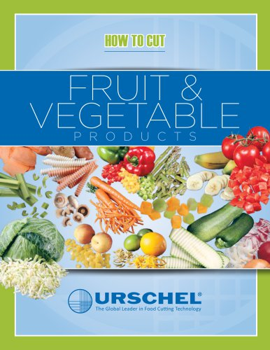 HOW TO CUT FRUIT & VEGETABLES PRODUCTS