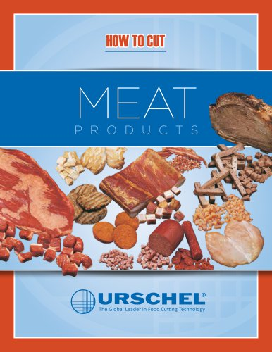 HOW TO CUT MEAT PRODUCTS