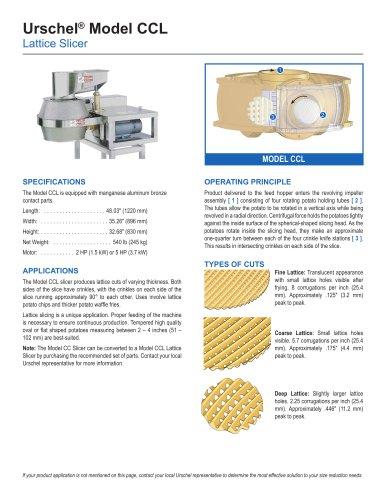 Urschel® Model CCL