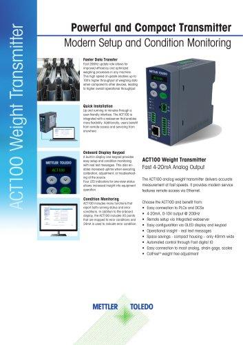 ACT100 Weight Transmitter