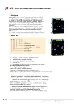 RDW1-1000 series Intelligent type universal circuit breaker