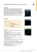 RDW1-2000~6300 series Intelligent type universal circuit breaker