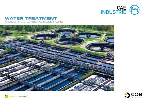 "Industry - Environment brochure ""Water Treatment"""