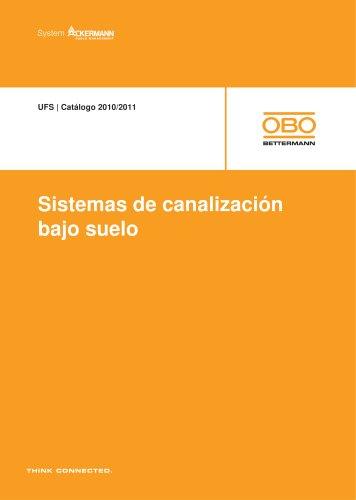 UFS Sistemas de canalización bajo suelo