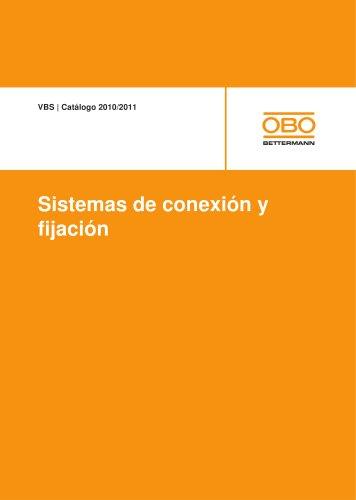 VBS Sistemas de conexión y fijación