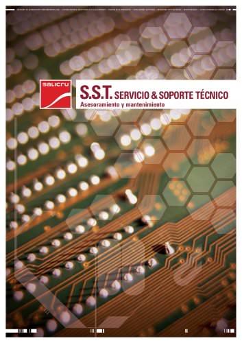 Catálogo SERVICIOS S.S.T