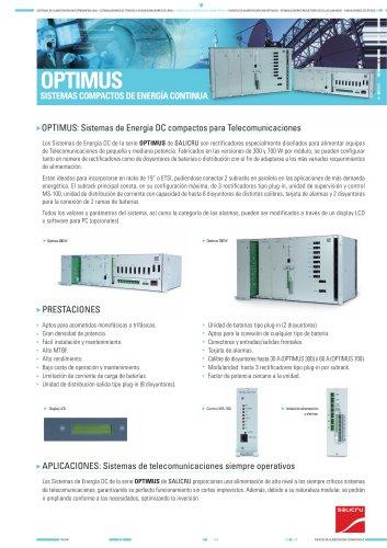 Ficha de producto: Serie OPTIMUS