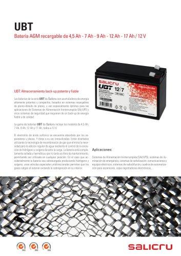UBT Baterías recargables
