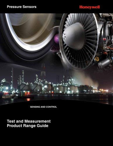 Honeywell Pressure Transducers for Test and Measurement