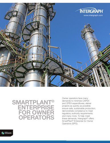 SmartPlant® Enterprise for Owner Operators