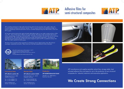 ATP tapes for semistructural composites