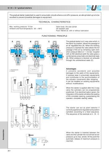 AM-52_Gradual starters G 1/8 ÷ G 1