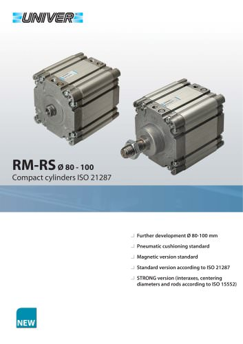 RM/RS Ø 80-100_ISO 21287 Compact cylinders