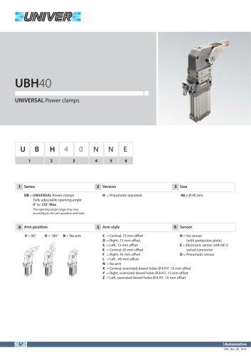 UBH40_UNIVERSAL Power clamps