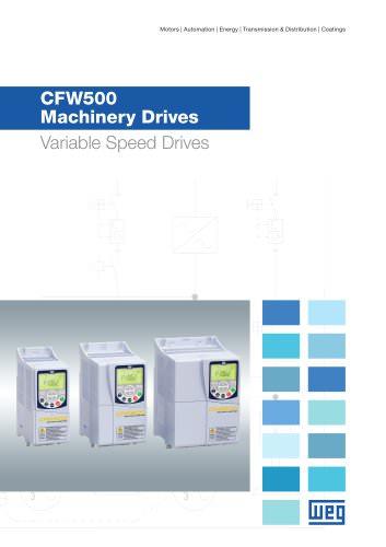 CFW500 Machinery Drives - VSD