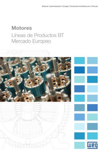 Motores Lineas Productos BT Mercardo Europeo