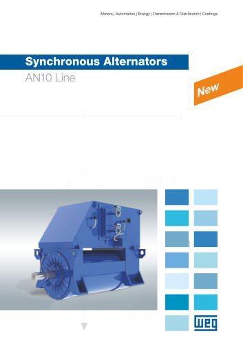 Synchronous alternators AN10 line