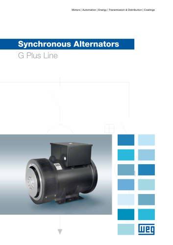 Synchronous alternators G Plus line