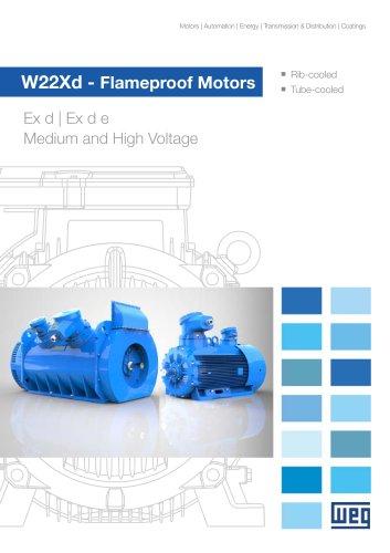 W22Xd - Flameproof Motors (Medium and High Voltage)