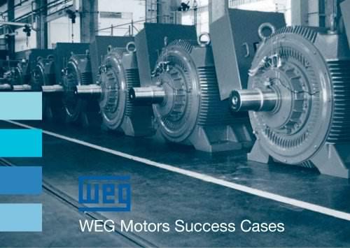 WEG Motors Success Cases