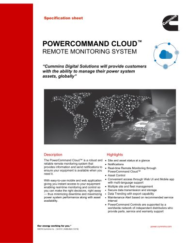 POWERCOMMAND CLOUD™