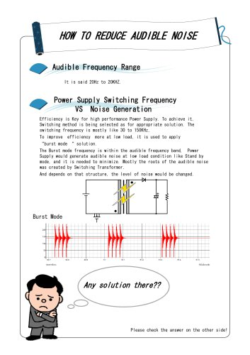 How to reduce audible_noise
