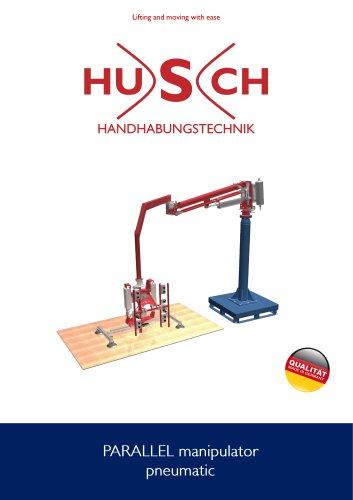 HUSCH handling technology PARALLEL manipulator flyer