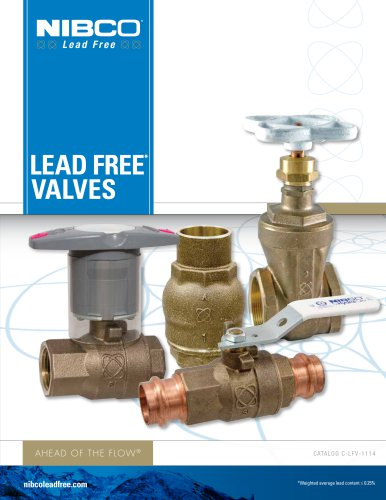 Lead Free Valves Catalog