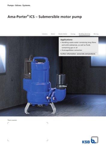 Ama-Porter ®  ICS ? Submersible motor pump