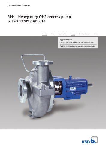 RPH – Heavy-duty OH2 process pump
