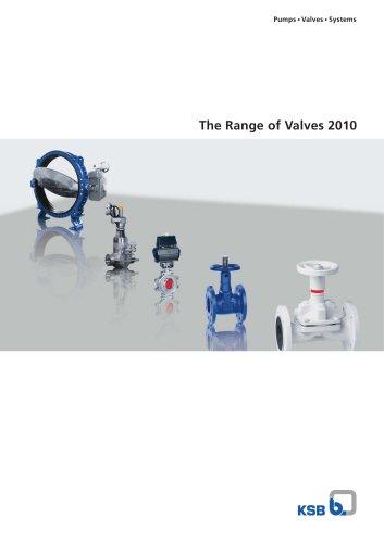 The Range of Valves 2010